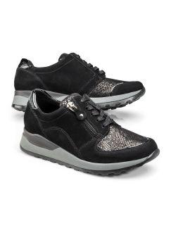Waldläufer Bequem-Sneaker Schwarz Detail 1