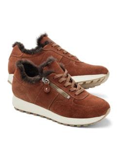 Lammfell-Sneaker