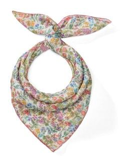 Seiden-Nickituch Multicolor Detail 1