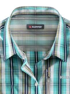 Klepper Bluse Coolmax Lagune Detail 3