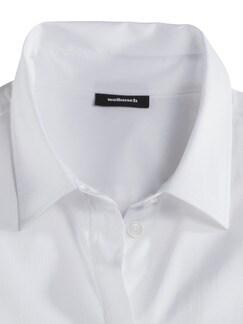 Ultrastretch-Hemdbluse Weiß Detail 3