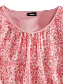Shirtbluse Daisy Koralle Detail 4