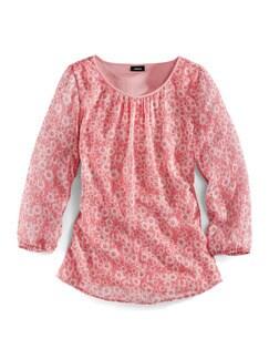 Shirtbluse Daisy Koralle Detail 3