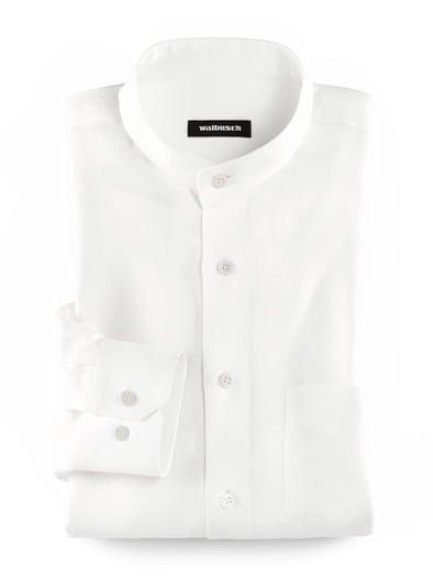 super quality crazy price nice cheap Stehkragen-Leinenhemd