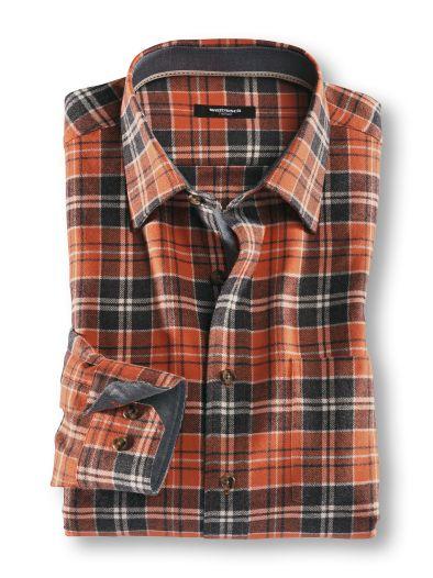 Cotton-Wool-Shirt Karo