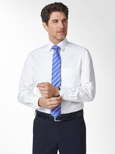 Extraglatt-Hemd Oxford Streifen
