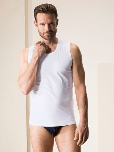 Modal Sport-Shirt Rundhals 2er-Pack