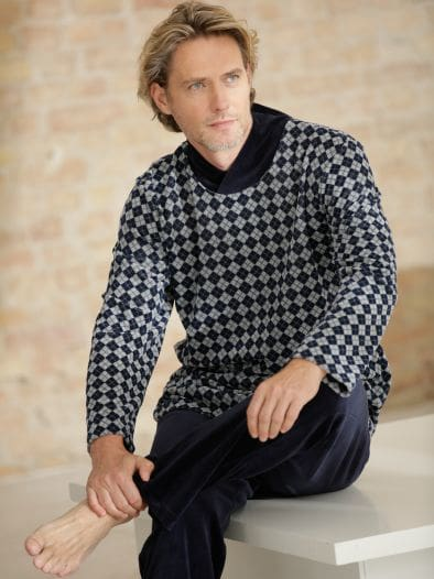 Thermo- Schlafanzug