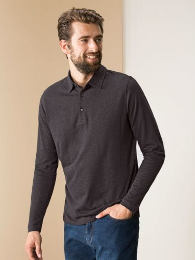 Winter Jacquard Polo