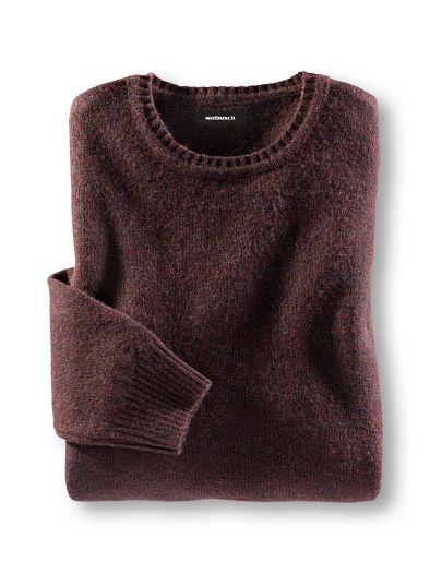 Schurwoll-Pullover Rustikal