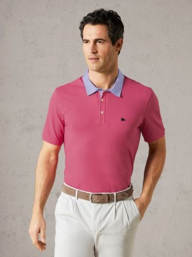 Hemd-Polo Pima Cotton