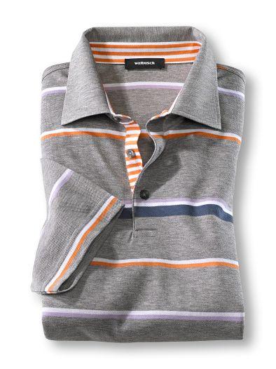 Soft-Cotton Streifen-Polo
