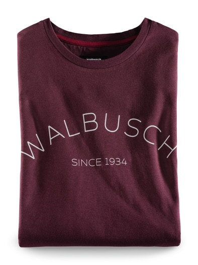 Rundhals Shirt Walbusch Edition