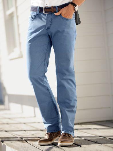 5-Pocket Baumwollhose Slim Fit
