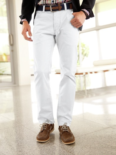 5-Pocket Baumwollhose Slim Fit