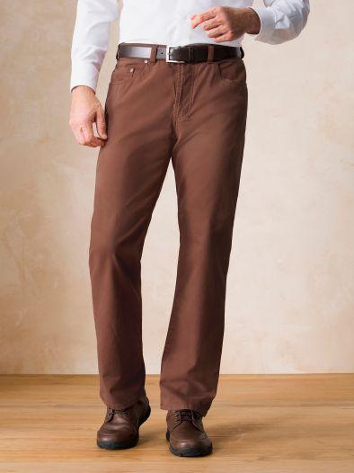Gardeur Five Pocket Cashmere-Cotton