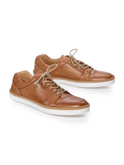 Glattleder-Sneaker Supersoft