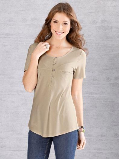 Luftig-leicht Shirt Serafino