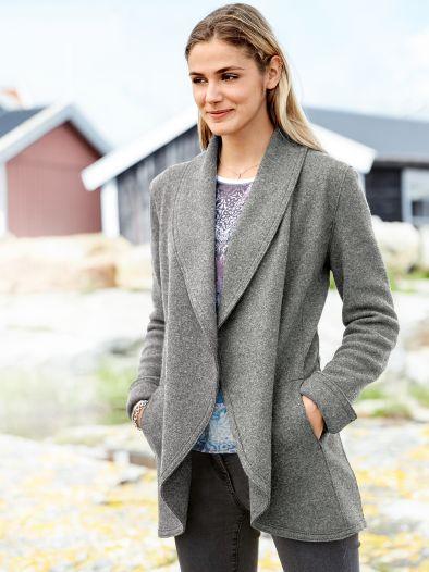 Woll Jersey Cardigan