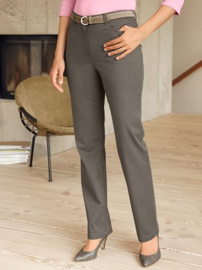 Baumwoll-Stretchhose Slim Fit