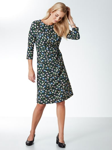 Jerseykleid Blumenwiese