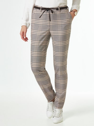 Flanellhose Country life Glencheck