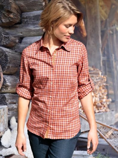Klepper Bluse Leichtflanell