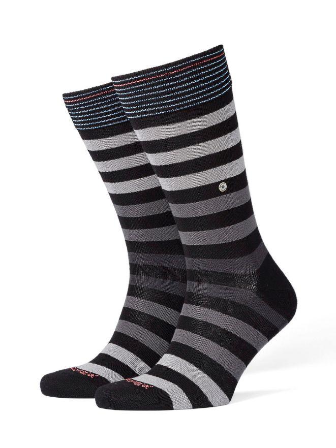 Burlington Socke Black Pool