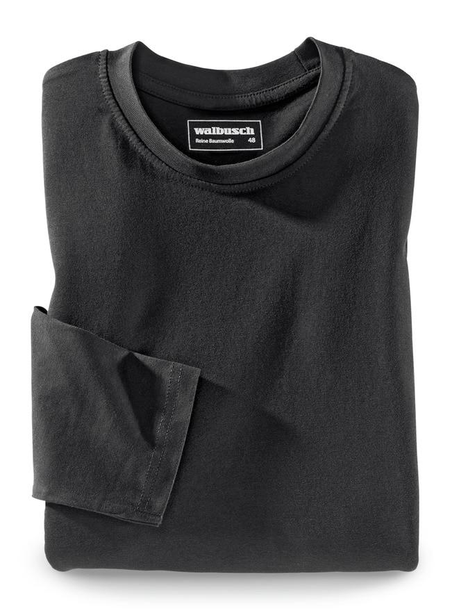Langarm-Shirt Rundhalsausschnitt