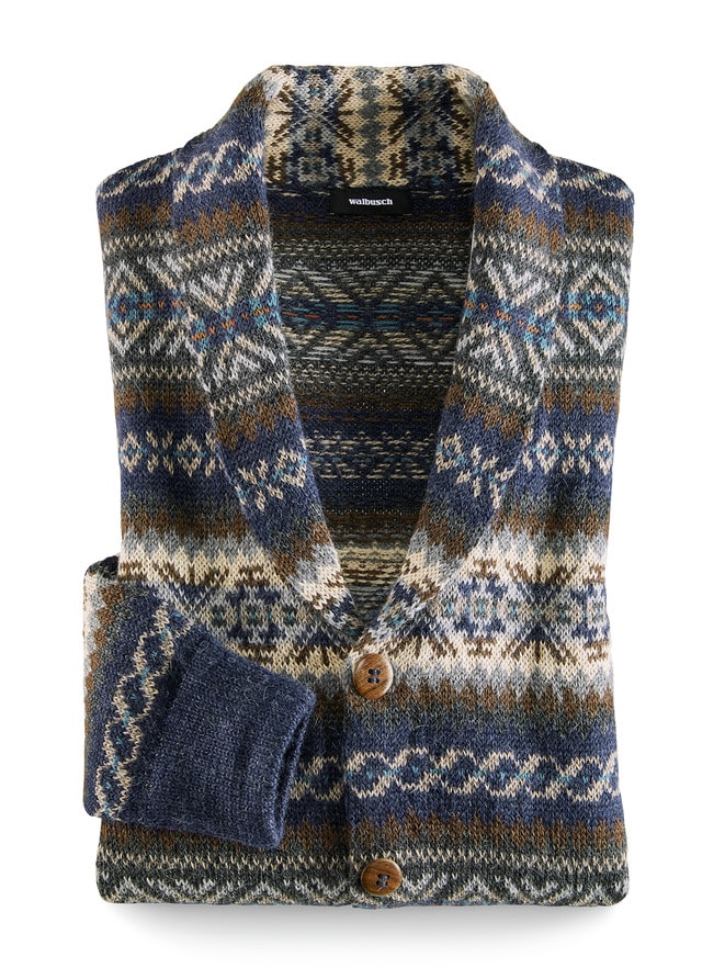 Alpaka Norweger Cardigan