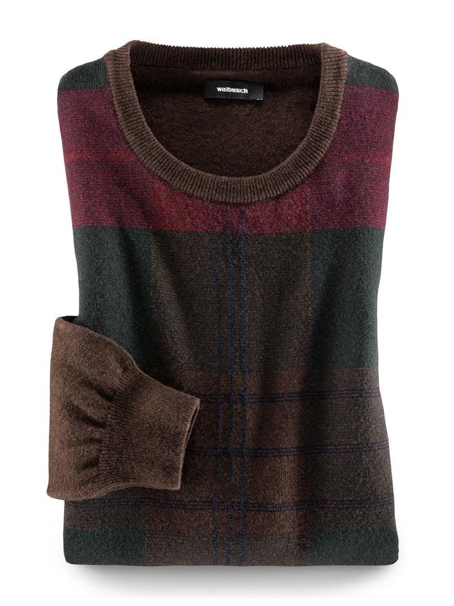 Tartan-Pullover