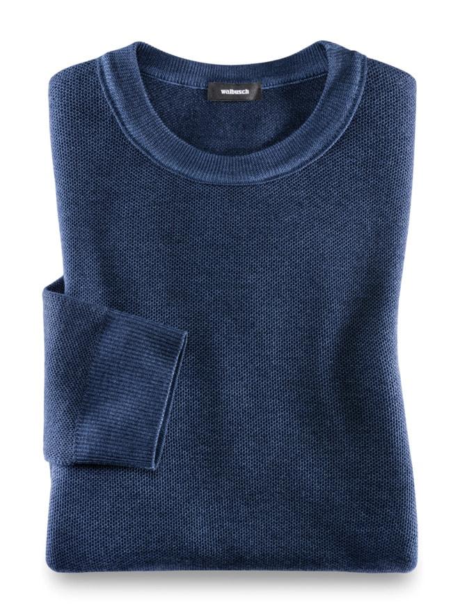 Merino Pullover Farbeffekt