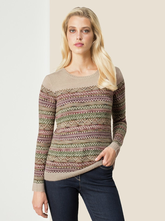 Alpaka-Pullover Mariella