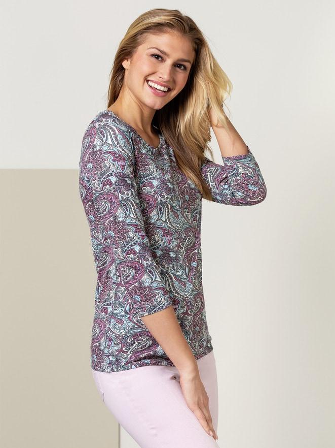 Paisley-Shirt