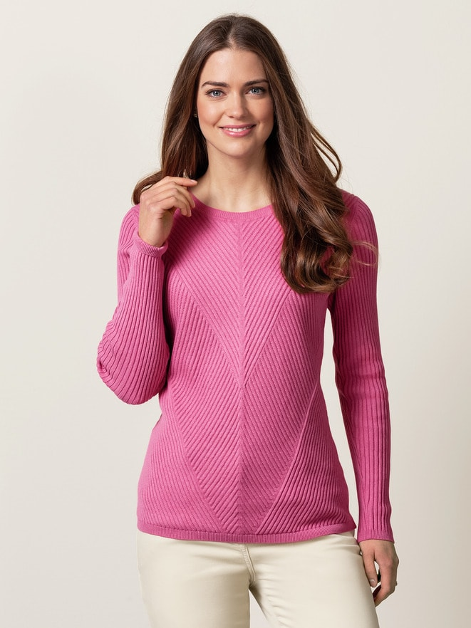 Relief Pullover Cashmere Mix