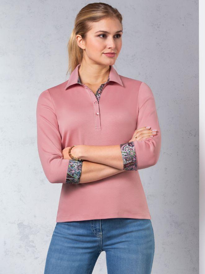 Paisley Polo - Premium Cotton