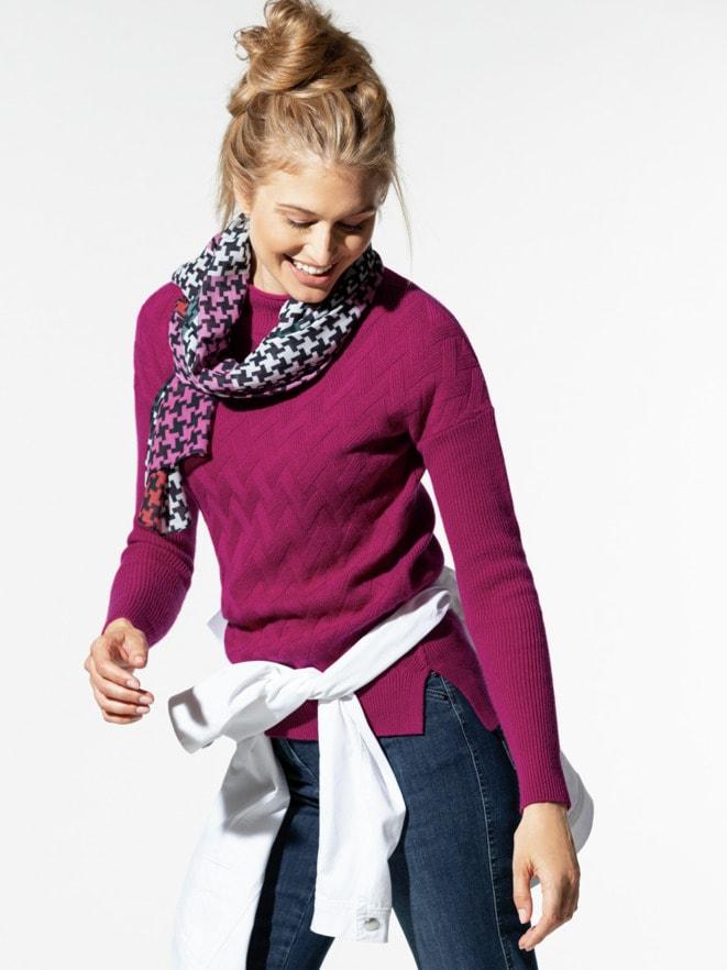 Seiden-Cashmere-Pullover