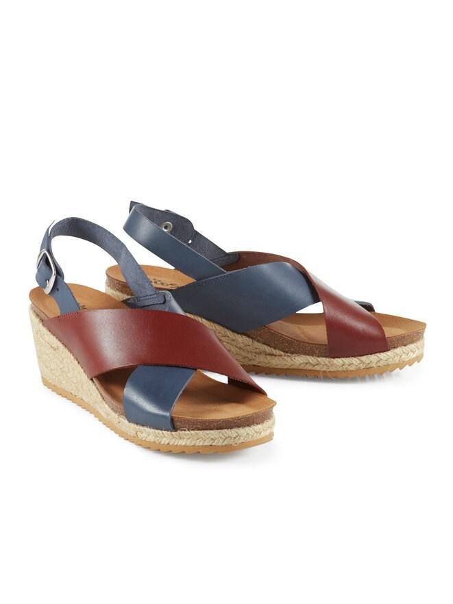 Keil-Bast-Sandale