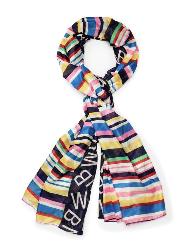 Colorblocking Streifen-Schal
