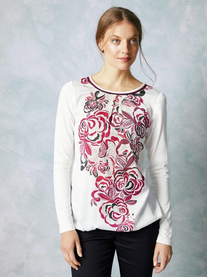 Shirtbluse Winterblüte