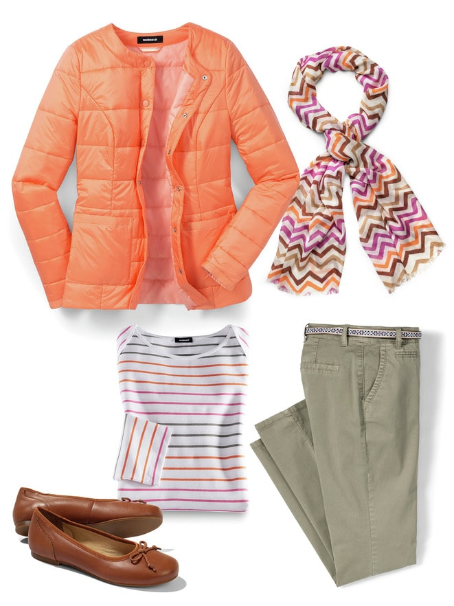 Steppjacke Outfit Lässig