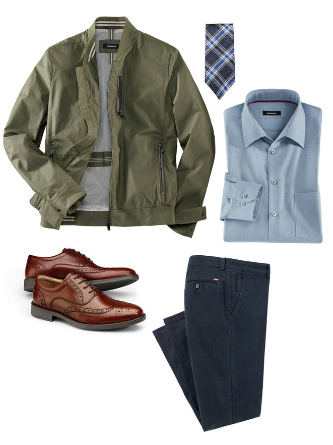 Herren-Outfit Formell