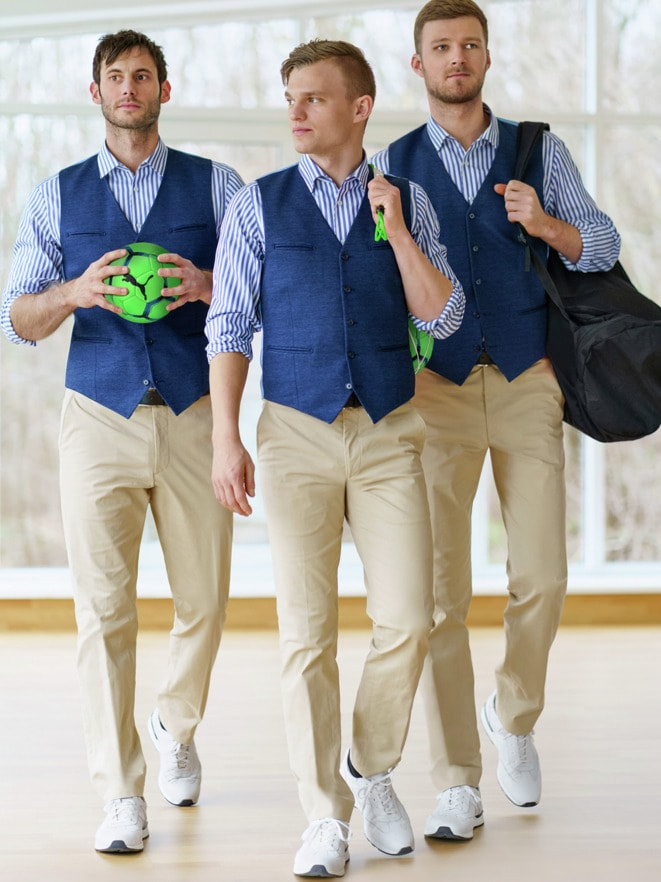 Outfit Perfekte Bewegungsfreiheit