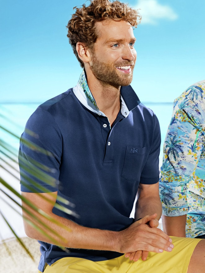 Outfit Strand-Polo Tropical