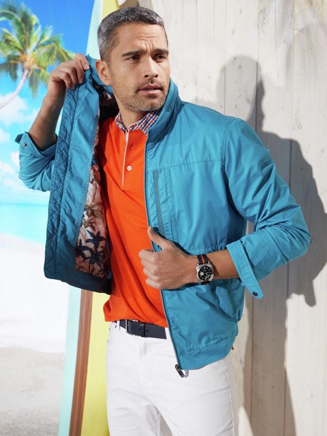Outfit 7-Taschen-Reiseblouson