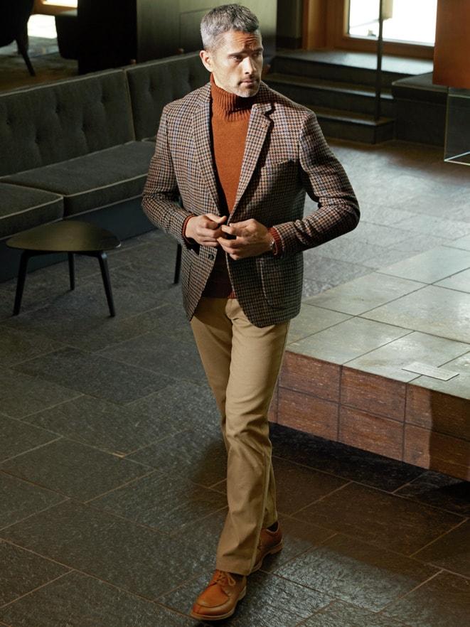 Outfit Roetzels Harris Tweed Sakko