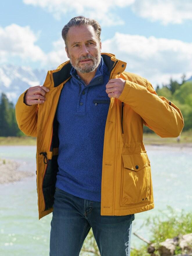 Outfit TV Winter-Langjacke