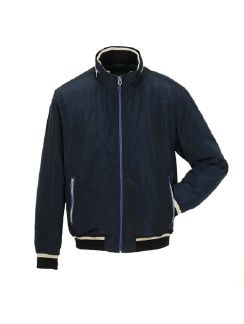 Windbreaker Navy Detail 6