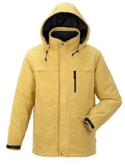 Klepper 2in1 Jacke Aquastop Curry Detail 8