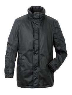 City Parka Aquastop Anthrazit Detail 2